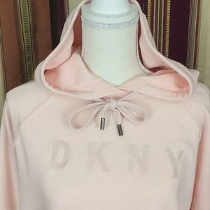 New DKNY SPORTS pullover sweater with hoodie